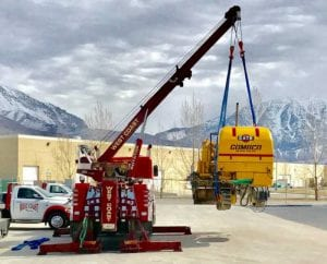 rotator-crane-service- Equipment- Emergency Road Service, Local/Long Distance Towing- Lehi and Utah County UT